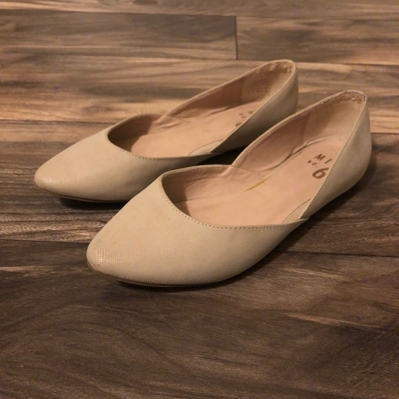 Mix No. 6 Shoes   Dsw Nude Flats   Poshmark